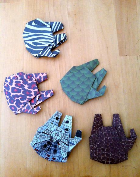 Star Wars Millennium Falcon origami | Bubanana - photo#26