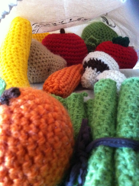 More Harvest Knit and Crochet – Vegetables – free patterns ... | 616x460